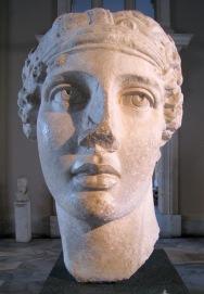 Sappho statue